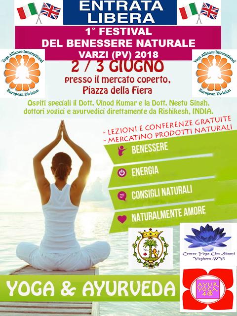 Evento Giugno 2018 Festival Del Benessere Naturale Varzi 2018 Ayuryoga 4